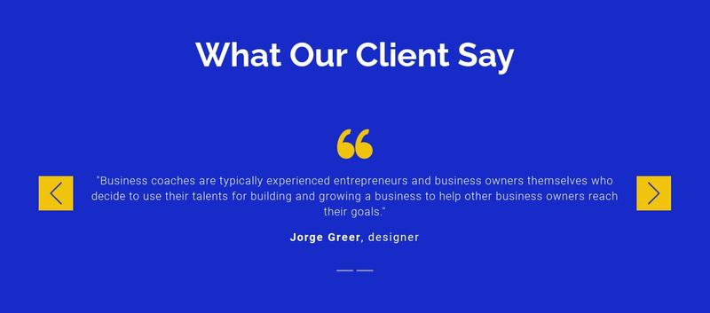 We value our clients Web Page Design