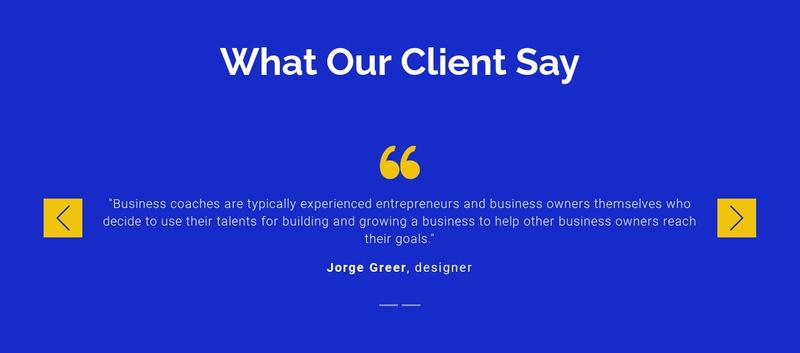 We value our clients Website Maker