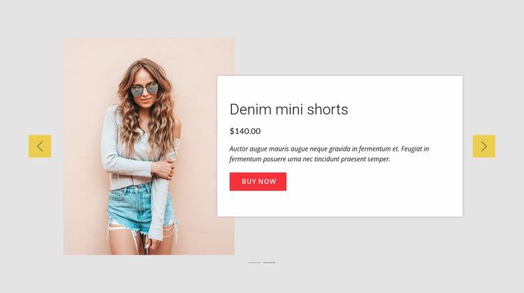 Top Summer Deals Website Mockup