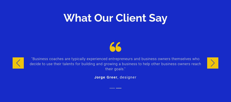 We value our clients Website Mockup