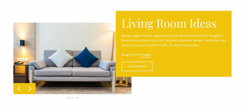 Cool lucite furniture Web Page Designer