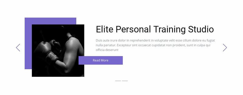 Individual training Web Page Designer