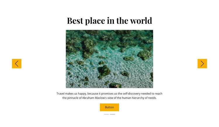 Snorkeling trips HTML Template