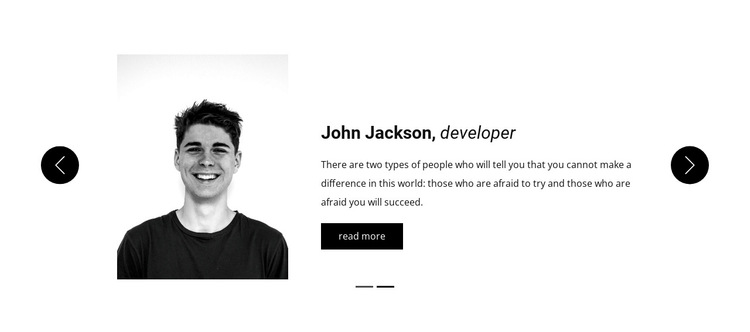 What our guests have to say HTML5 Template