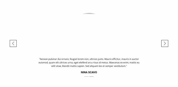 Sincere customer reviews Website Mockup