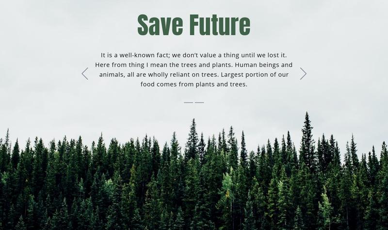 Save Future Website Creator