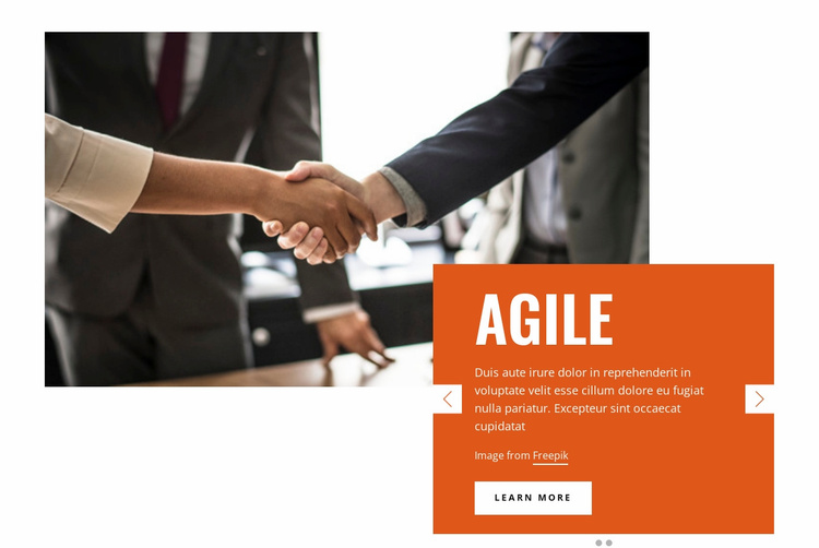 Success Business Website Template