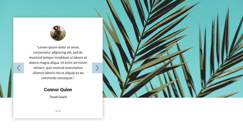 Visual testimonials Web Page Designer