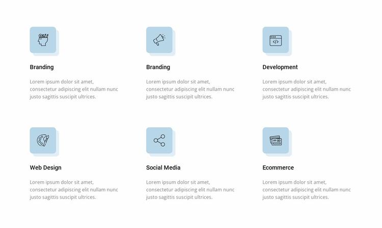 Digital transformation Website Template
