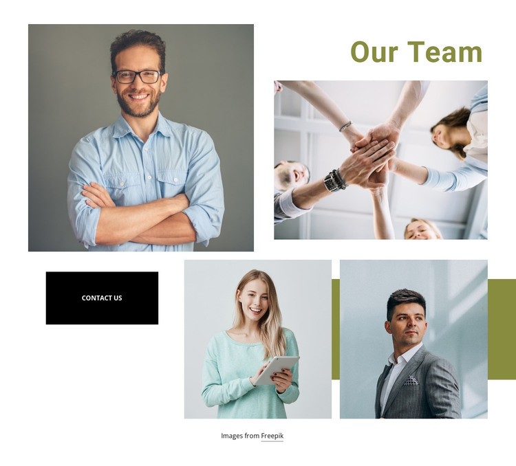 We are a sales-oriented agency HTML Template