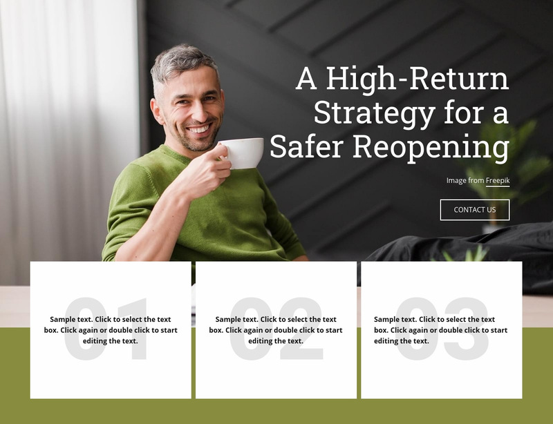 A Higth-Return Strategy Web Page Designer