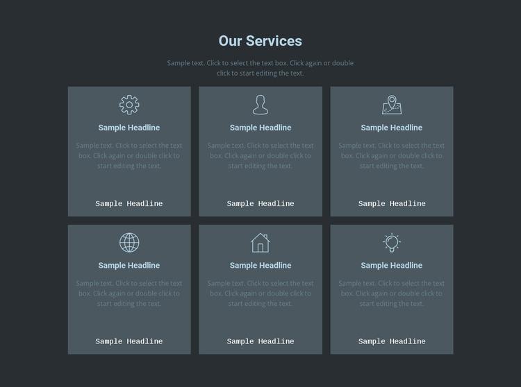 Our key offerings Html Website Builder