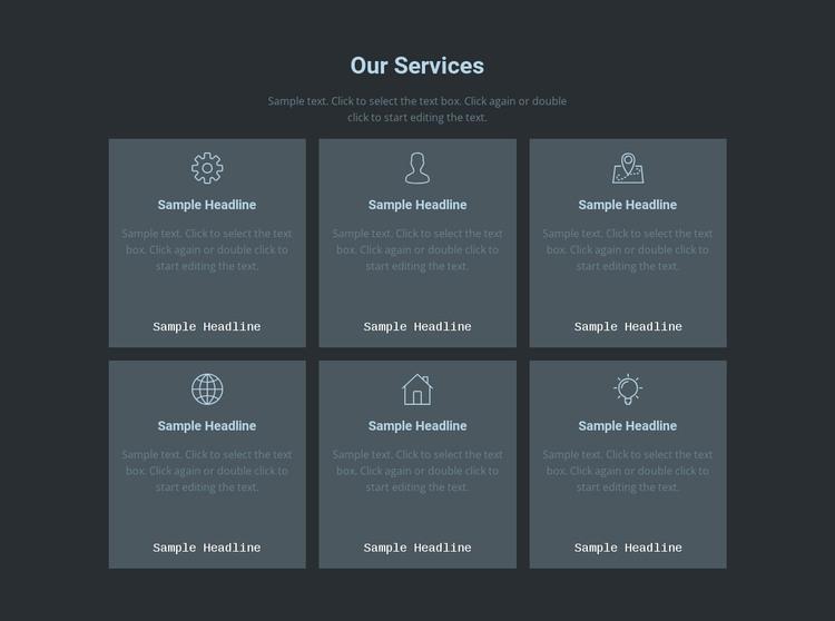 Our key offerings WordPress Theme