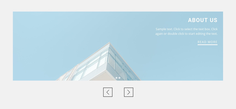 About architecture agency Web Page Designer