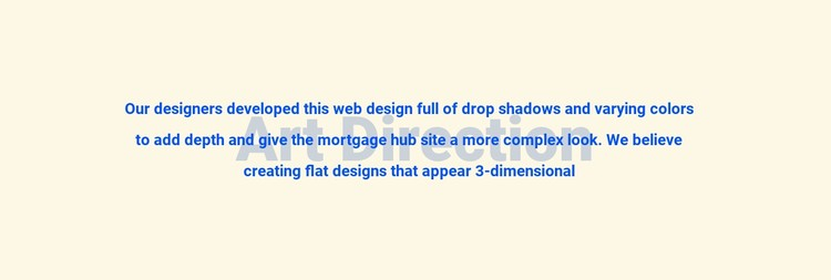 About art direction Static Site Generator