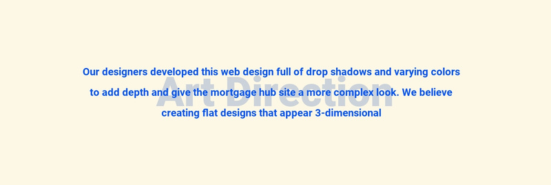 About art direction Web Page Design