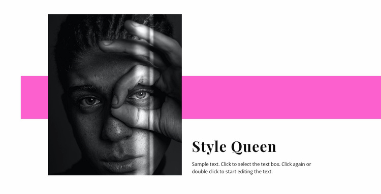 Style queen Website Template
