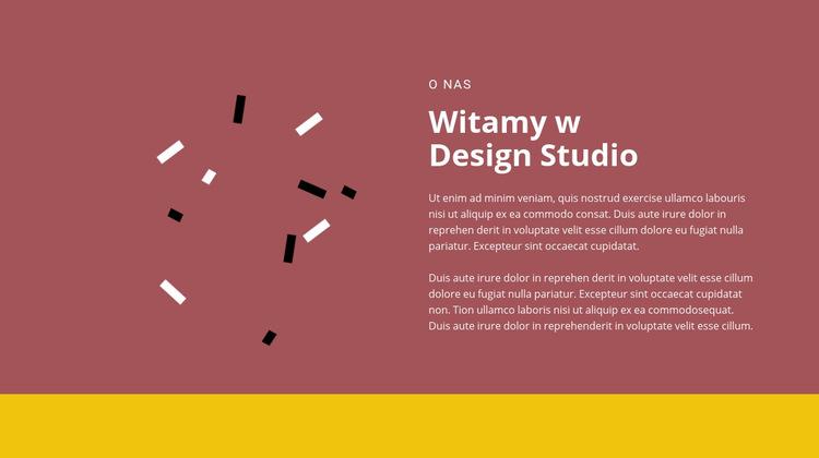 Zapraszamy do projektowania Szablon witryny sieci Web