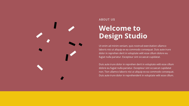 Welcome to design Website Template