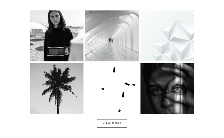 Our gallery about projects HTML Template