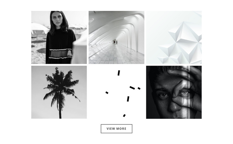 Our gallery about projects HTML5 Template